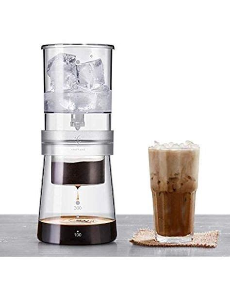 Slow drip methodology eliminates the risk of over extraction, a. Soulhand Ice Drip Coffee Maker, Adjustable Rate Ice Drip Dripper Glass Dutch Style Cold Brew ...
