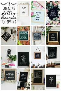 15 amazing letter board ideas for spring letter board