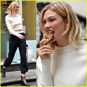 Karlie Kloss Indulges Her Sweet Tooth Paris Bakery