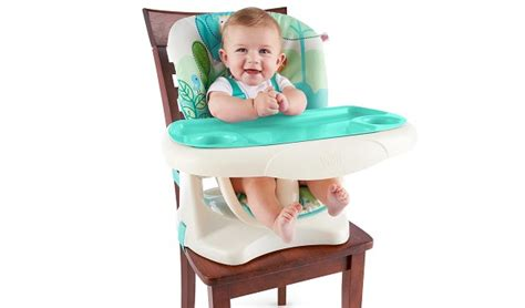 bright starts playful pals chair top high chair