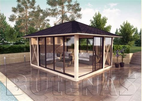 Garten Pavillon Holz by Gartenpavillon Holz Mit Stoffdach Bvrao