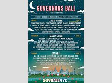 Lineup – The Governors Ball Music Festival