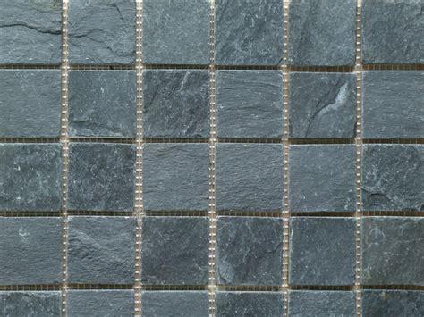 slate mosaic sle of black riven slate mosaic wall floor tiles ebay