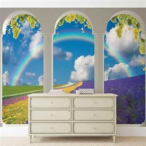 Poster Mural Nature : champ de lavande nature arches poster mural papier peint acheter le sur ~ Teatrodelosmanantiales.com Idées de Décoration
