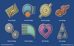 pokemon badges hoenn league