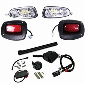 Premium E-z-go Rxv Gtw Led Light Kit  Fits 2008-up