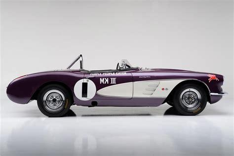 Purple Eater Car by Purple Eater 59 Corvette Heads To Auction