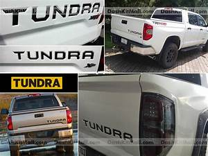 black toyota tundra 2014 2015 tailgate letters not decals With 2014 tundra tailgate letters