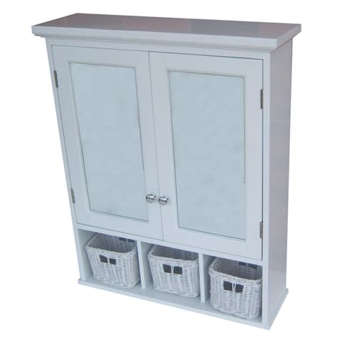 lowes bathroom storage cabinets shop allen roth 24 75 in x 30 25 in rectangle surface