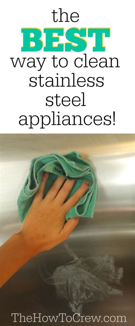 best way to clean stainless steel sink the best way to clean stainless steel appliances from http
