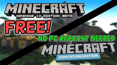minecraft windows education edition   pc account