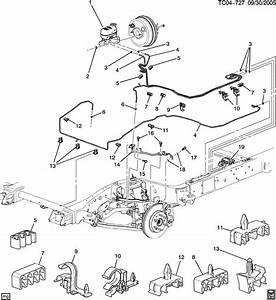 Brake Line Routing Diagram - How-to