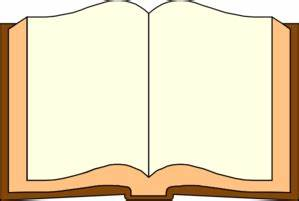 Blank Open Book Clip Art at Clker.com - vector clip art ...