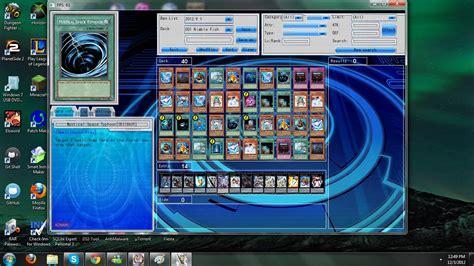 yugioh deck simulator deck edit image yugioh devpro simulator db