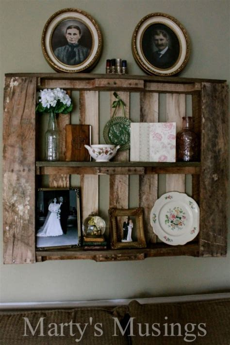 cute diy shabby chic shelves  racks shelterness