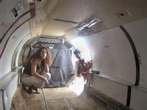 small cargo plane interior aircraft plane mirror