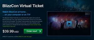Virtual Blizzcon Tickets Ready for Order - World of ...