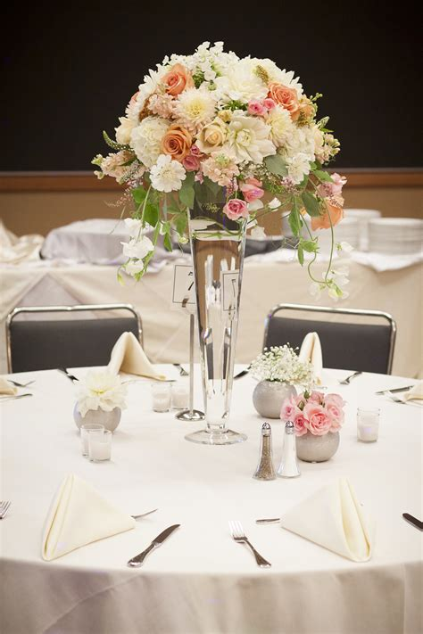 Romantic Style Wedding In Peach Pearl And Blush Tobey