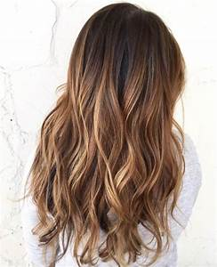 Ombré Hair Marron Caramel : balayage marron ~ Farleysfitness.com Idées de Décoration
