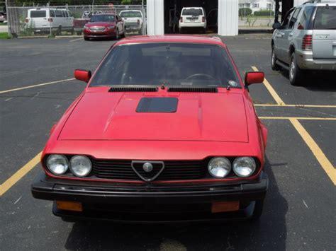 Alfa Romeo Alfetta Gtv6 1986 New Factory Red Paint Super