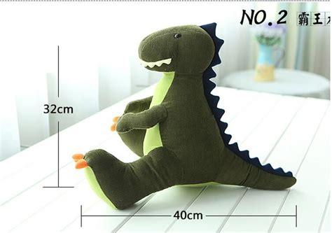 large dinosaur stuffed animal pattern soft plush