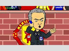 Manchester United vs Chelsea 11🚍 2014 football cartoon