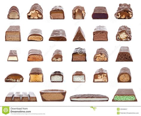 whats   center   chocolate bar stock image