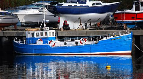 Converted Fishing Boats For Sale Scotland by Mfv Bf494 Pansy An Old Motor Fifie Conversion