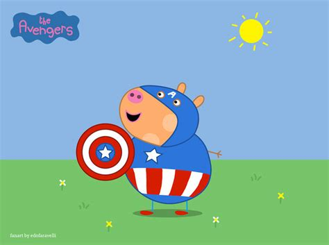 superman peppa pig and the avengers in versione peppa pig guarda la gallery