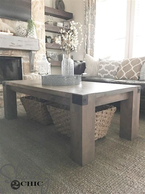 shanty 2 chic farmhouse table modern farmhouse coffee table and how to video shanty 2 chic
