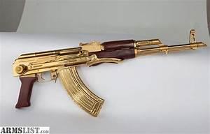 ARMSLIST - For Sale: Gold AK47