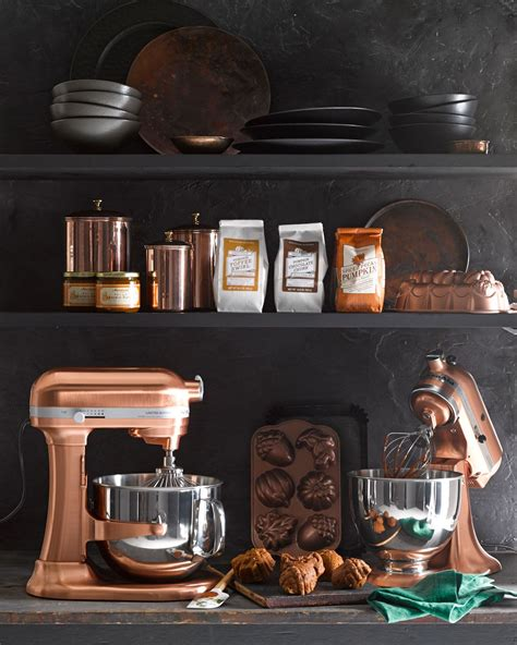 kitchenaid pro  copper stand mixer  qt rose gold kitchen latest kitchen designs rose