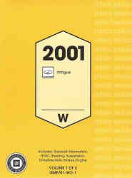 car repair manual download 2001 oldsmobile intrigue spare parts catalogs 2001 oldsmobile intrigue factory service manual
