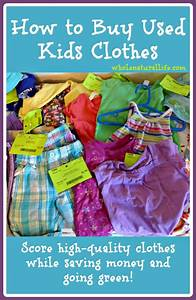 how, to, buy, used, kids, clothes
