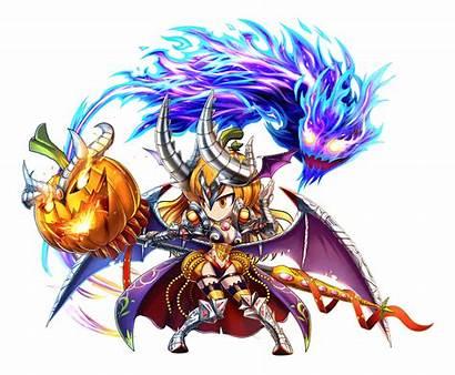 Semira Brave Frontier Characters Halloween Dark Unit