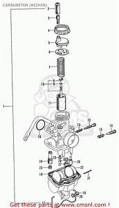 Honda Cd90z General Export Carburetor  Keihin
