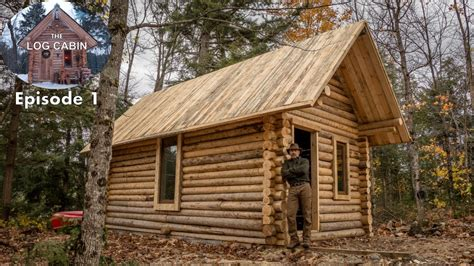 How To Build A Log Cabin Build A Log Cabin With Fence Posts In My Backyard