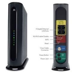 Motorola Motorola 16x4 686 Mbps +AC1600 Dual Band WiFi ...