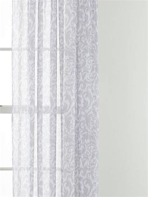 Jcpenney Home Sheer Curtains by Royal Velvet 174 Balmoral Rod Pocket Sheer Curtain Panel