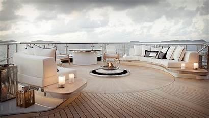 Yacht Kismet Lurssen Deck Superyacht Mega Luxury