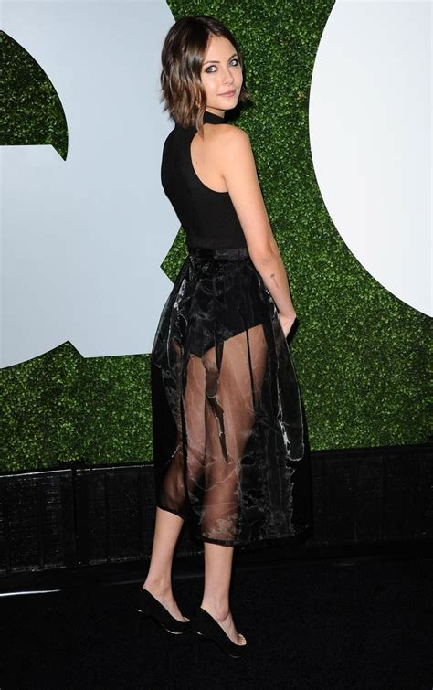 Willa Holland 2014 GQ Men Of The Year Party LA 6   Short