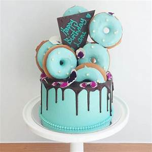 Donut Drizzle Cake
