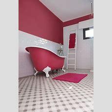 Baignoire Rose – Belles Idées de Design de Maison