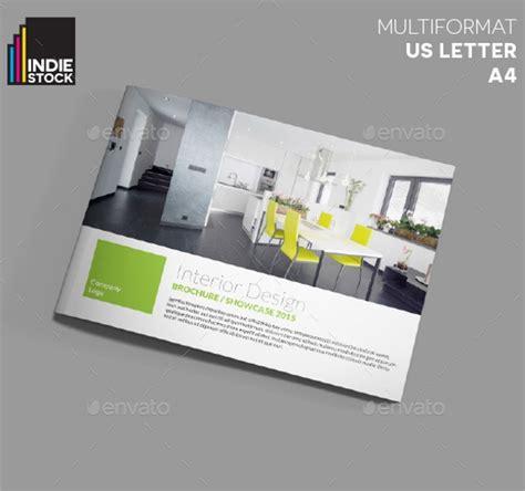 interior design brochure template    vector