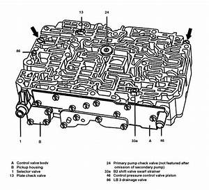Valve Body Diagram W202 C280 96 U0026 39