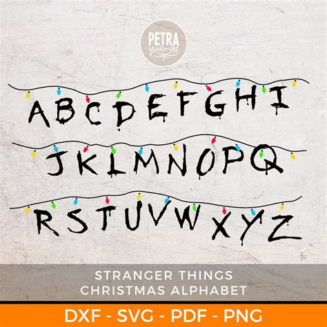 Studio files are for use with the silhouette studio® software program. Pin on Stranger Things Birthday Party