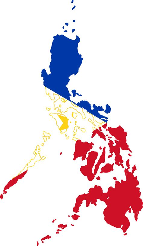 Fileflag Map Of The Philippinessvg  Wikimedia Commons