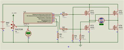 Разработка системы управления солнечным трекером на основе микроконтроллера Arduino . Авторская платформа