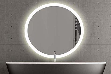 Rund Mit Beleuchtung by Runder Spiegel Mit Led Beleuchtung 120cm Warmweiss