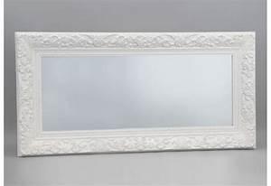 Miroir Rectangulaire Pas Cher : miroir rectangulaire blanc ~ Teatrodelosmanantiales.com Idées de Décoration